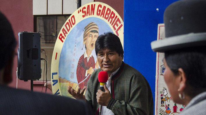 """""""En 15 años de amistad, jamás le oí (a Evo) hablar en aymara, peor en quechua"""""""