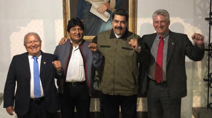 ¿Qué buscan los gobiernos que asistieron a la posesión de Maduro?