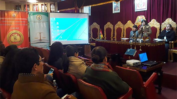 Presidente del Tribunal de Justicia de Oruro dice que en 2018 fueron resueltos 29.902 casos