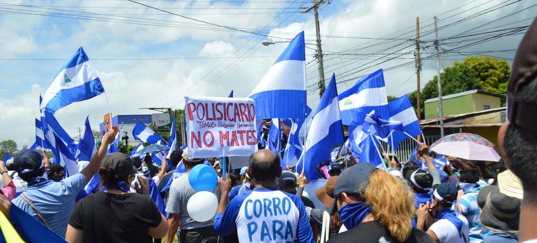 Reporte asevera que Nicaragua es el país que más ha retrocedido en derechos humanos