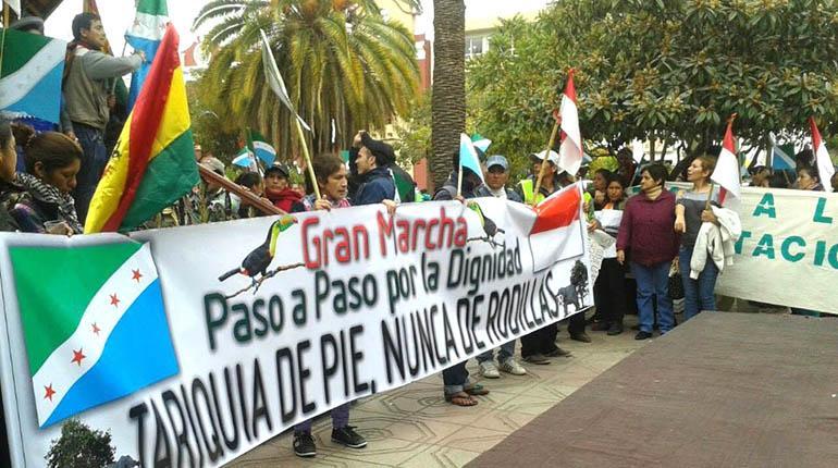 Declaran estado de emergencia y movilización permanente en defensa de Tariquía