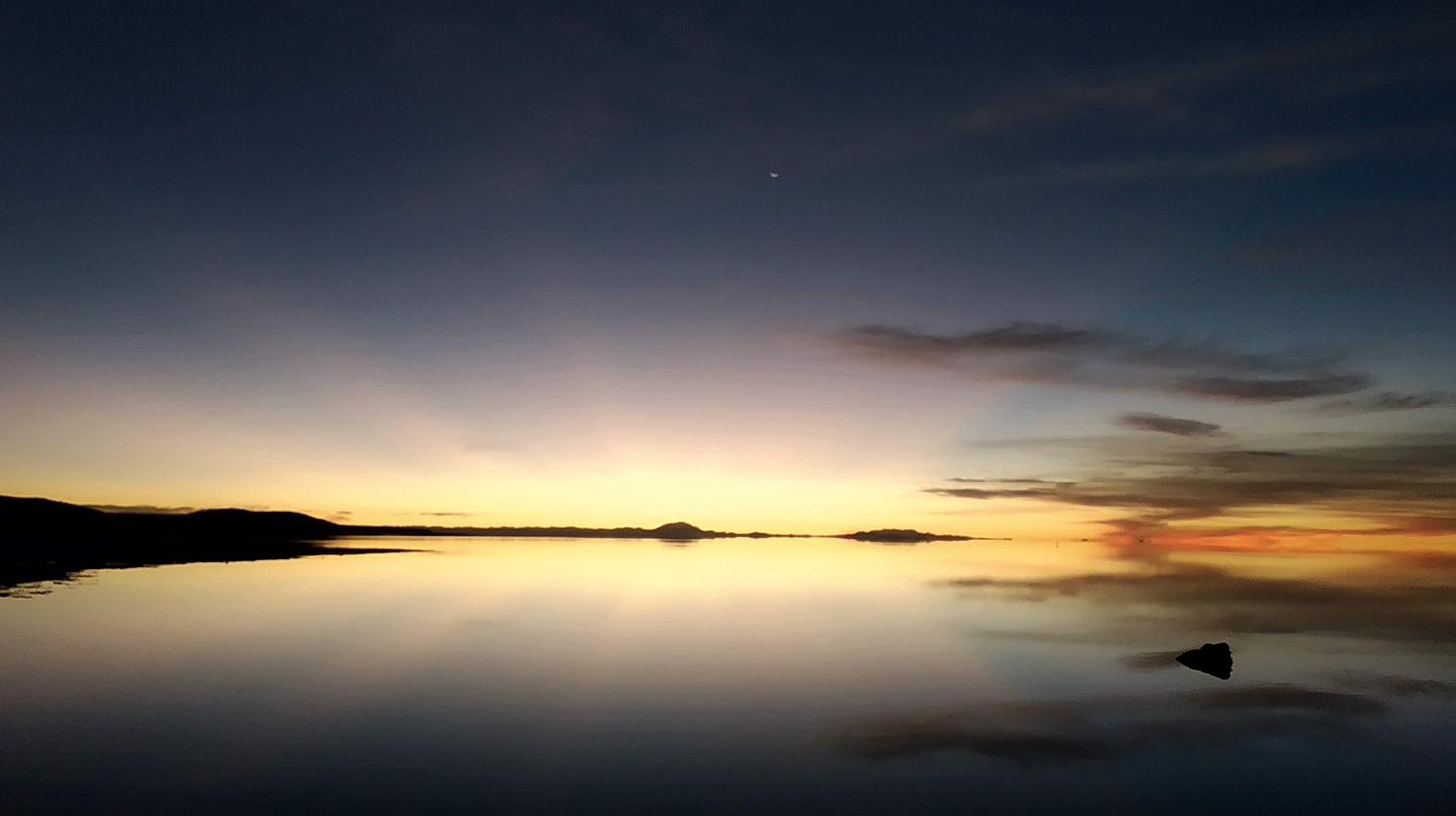 El salar de Uyuni desde donde la veas no pierde su belleza