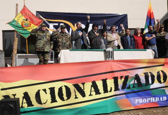 Evo busca la reelección: la paradoja del éxito de las multinacionales en la «economía plural» del presidente de Bolivia