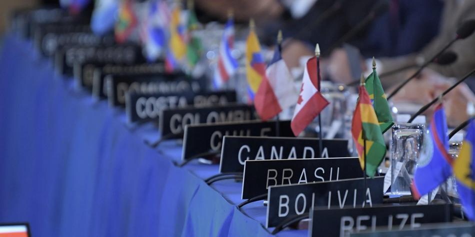 """Consejo Permanente de la OEA aprobó por mayoría resolución solicitando """"urgentemente"""" convocatoria para realizar elecciones en Bolivia"""