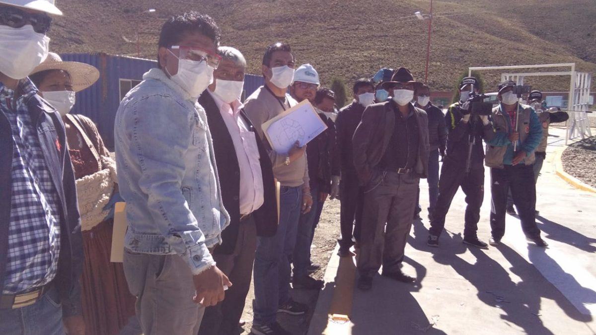 """Iván Arias: """"Hay que preparar a Oruro para los días difíciles; no está perdida la guerra, pero tampoco está ganada"""""""