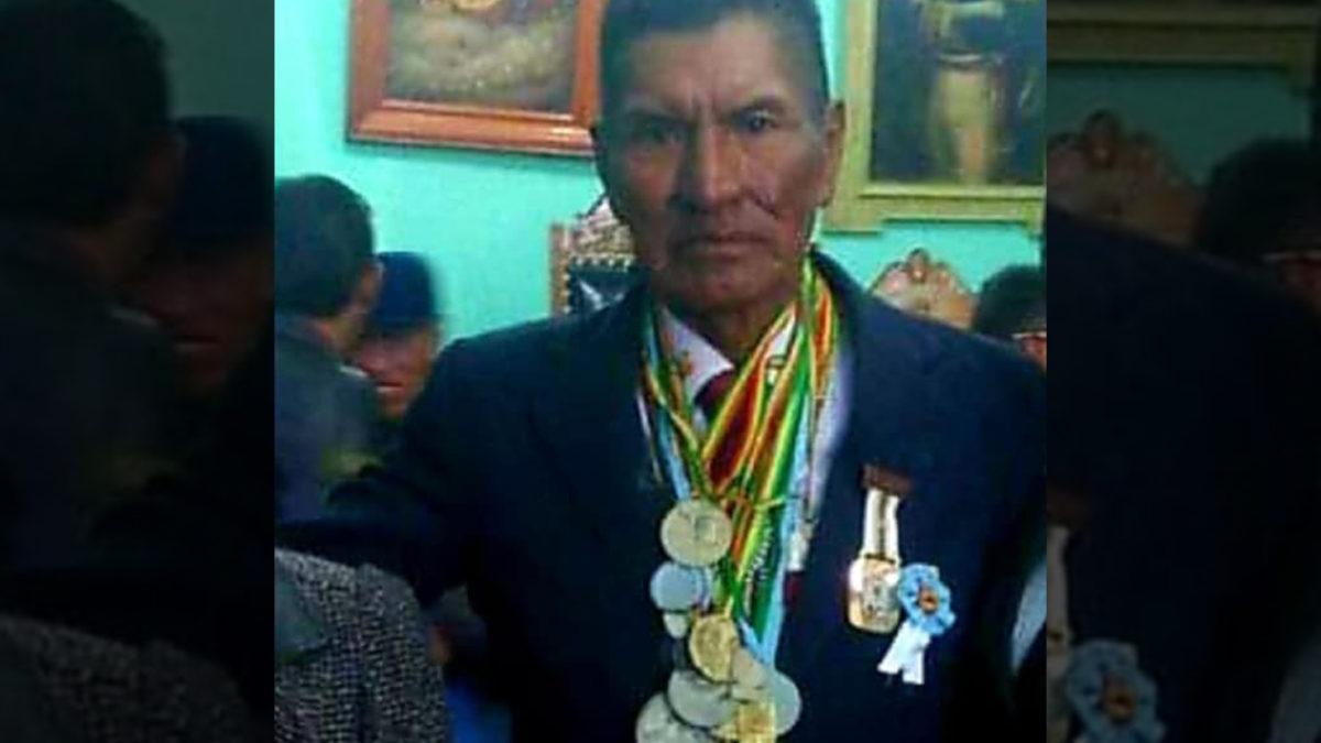El primer boliviano que participó en los juegos olímpicos sufre el robo de sus llamas