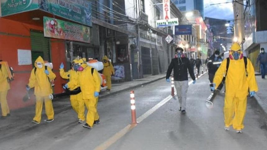 Colegio Médico de Oruro propone ampliar la cuarentena total hasta el 30 de abril