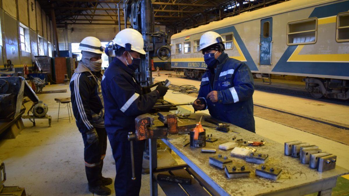 Ferroviaria Andina dota de seguro contra Covid-19 a sus trabajadores