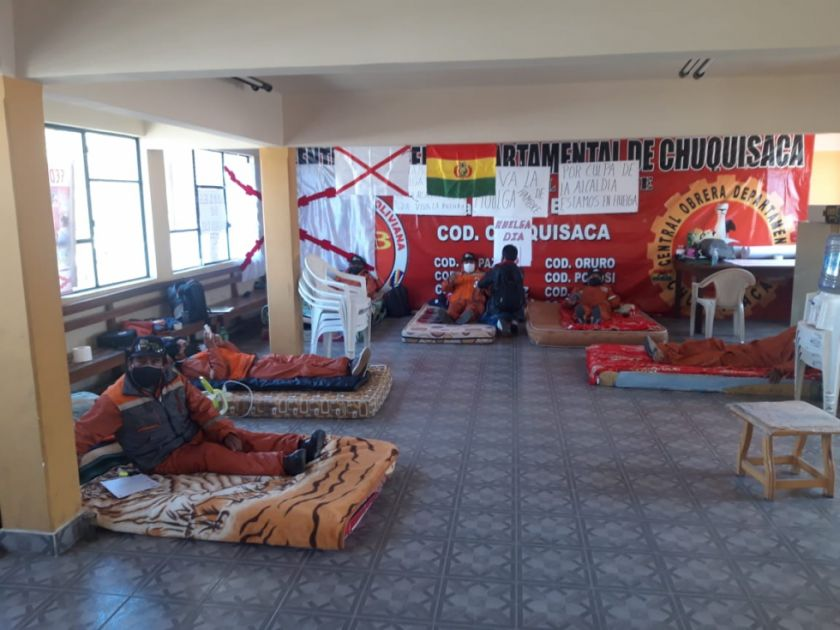 Trabajadores en Aseo de Sucre ingresan en huelga por falta de equipos de bioseguridad
