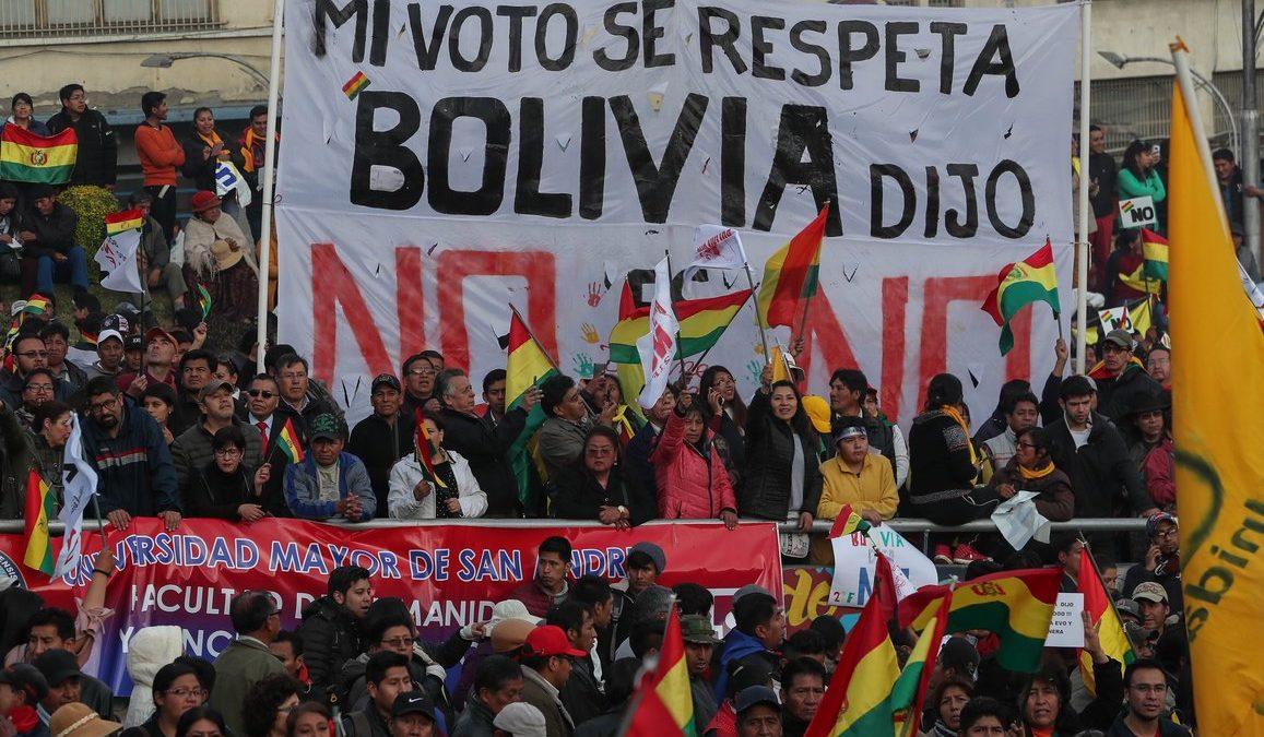 Organizaciones defensoras de DDHH en Bolivia interpelan a la CIDH por la crisis política de octubre