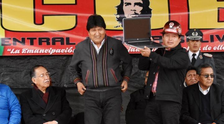 Trabajadores en salud de Oruro desconocen a Juan Carlos Huarachi como ejecutivo de la COB