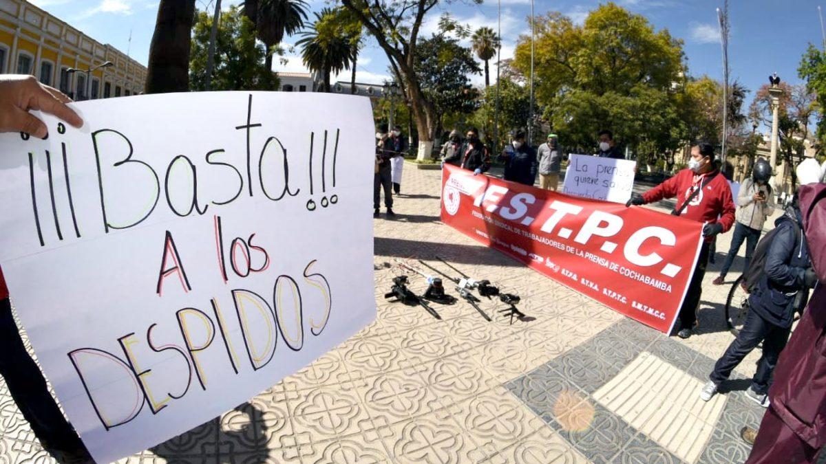 INE: Tasa de desempleo en Bolivia al mes de julio llega al 11.8%, la mayor causa es la pandemia