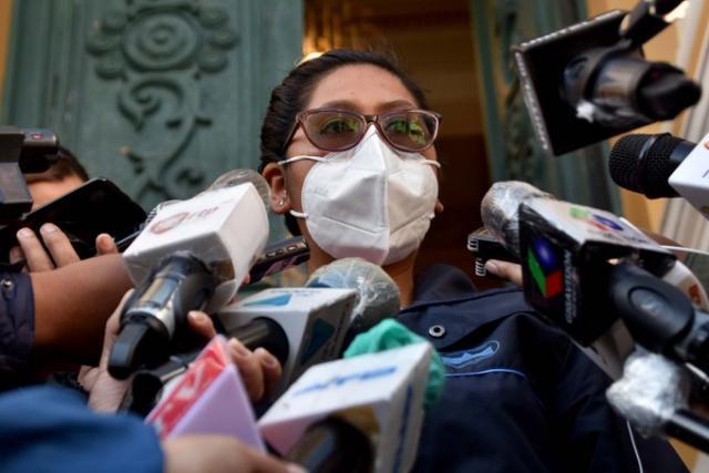 Reaparece Copa y advierte a Áñez con promulgar leyes desde el Legislativo