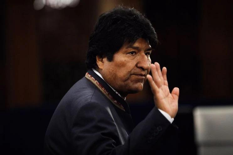 La justicia aplica el artículo 149 de la Constitución e inhabilita a Morales