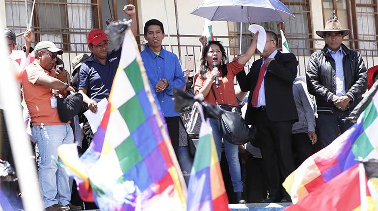 Ministerio Público rechaza la denuncia presentada en contra de la Defensora del Pueblo
