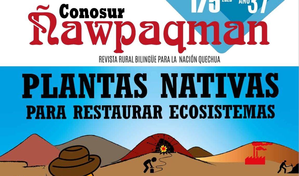 Ñawpaqman: el periódico que informa en quechua