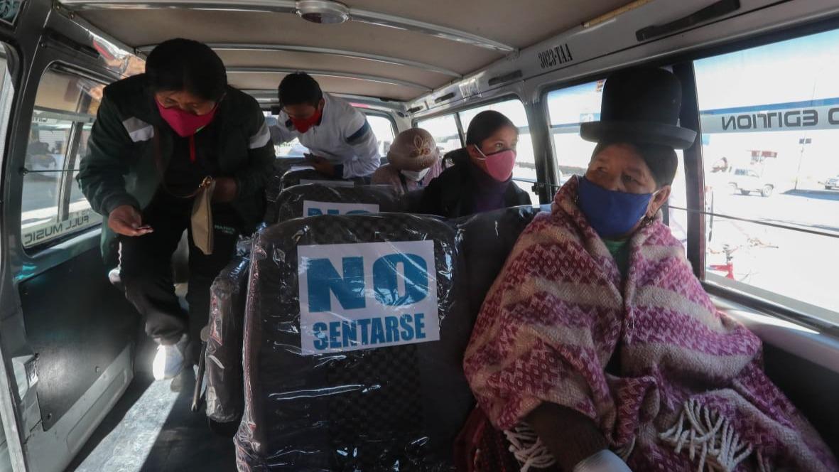 Indisciplina de choferes, elecciones y futbol, factores que ponen en riesgo para rebrote de Covid-19 en La Paz