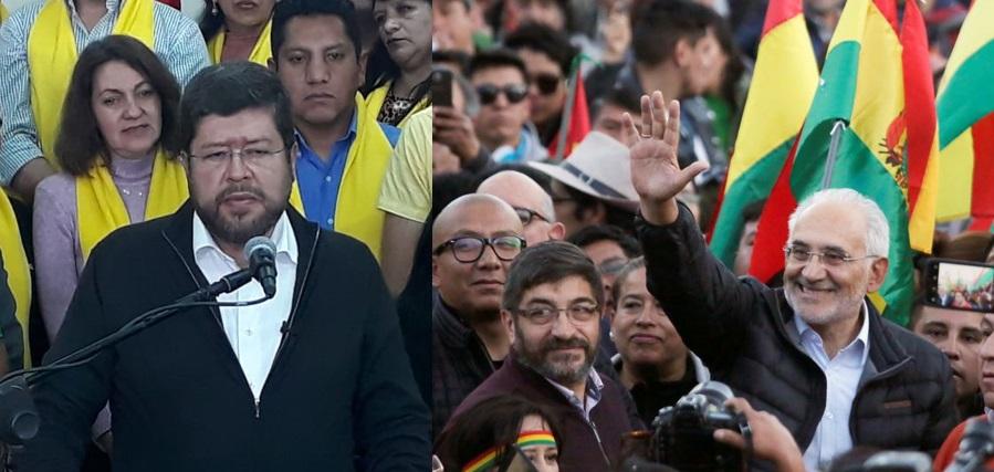 Unidad Nacional decide apoyar a Carlos Mesa para derrotar al MAS