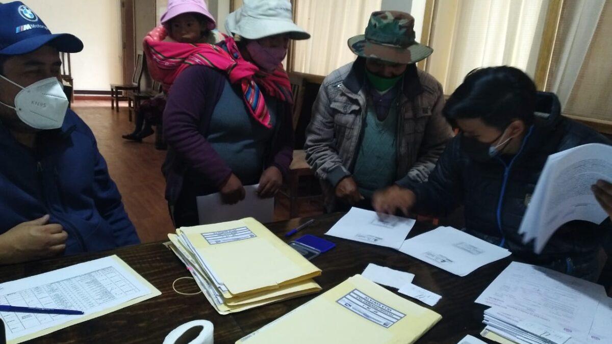 ABC efectivizó el pago de bs. 61.000 por afectaciones en el tramo Caracollo – Colquiri