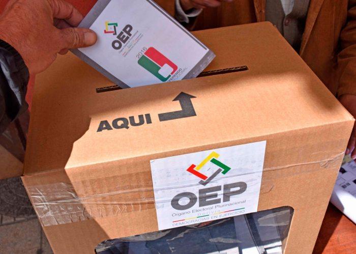 En Santa Cruz, indígenas realizarán la observación electoral a la jornada de votación del 18 de octubre