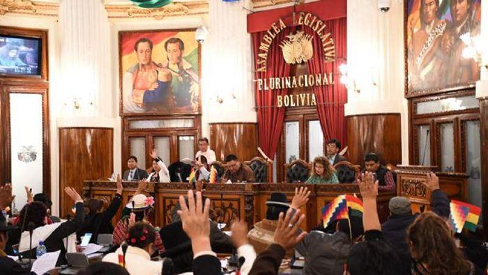 Andrónico Rodríguez presidirá el Senado y Freddy Mamani Diputados