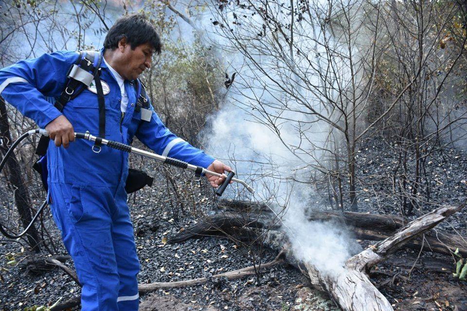 Martínez: la visión agrarista del siglo XVIII está propiciando los incendios forestales