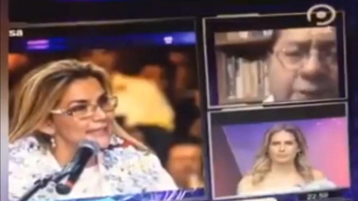 Arce, candidato: Añez es presidenta transitoria constitucional; Arce, Presidente: Añez fue presidenta de facto