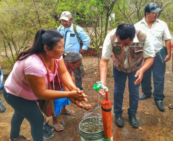 En la Chiquitanía, indígenas de Lomerío inauguran su sistema de provisión permanente de agua potable