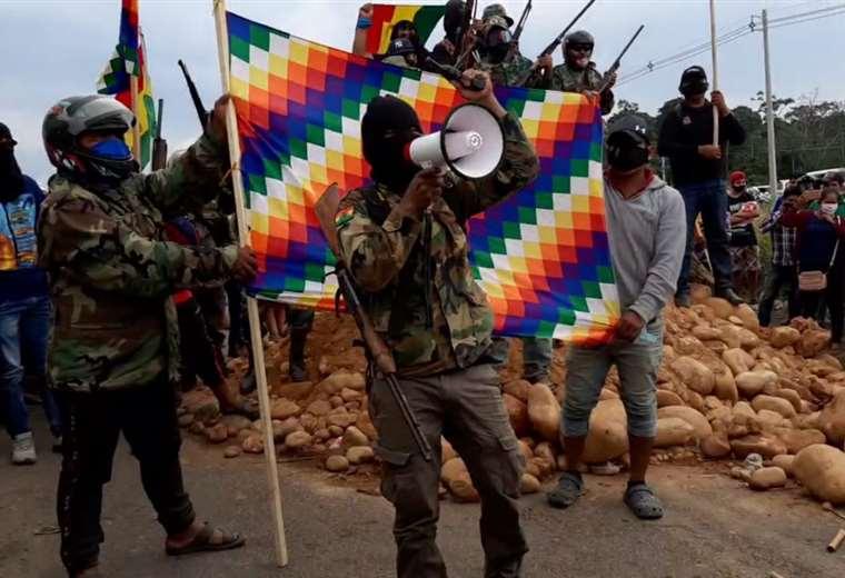 CONADE masista plantea modificación a la CPE para la creación de milicias armadas