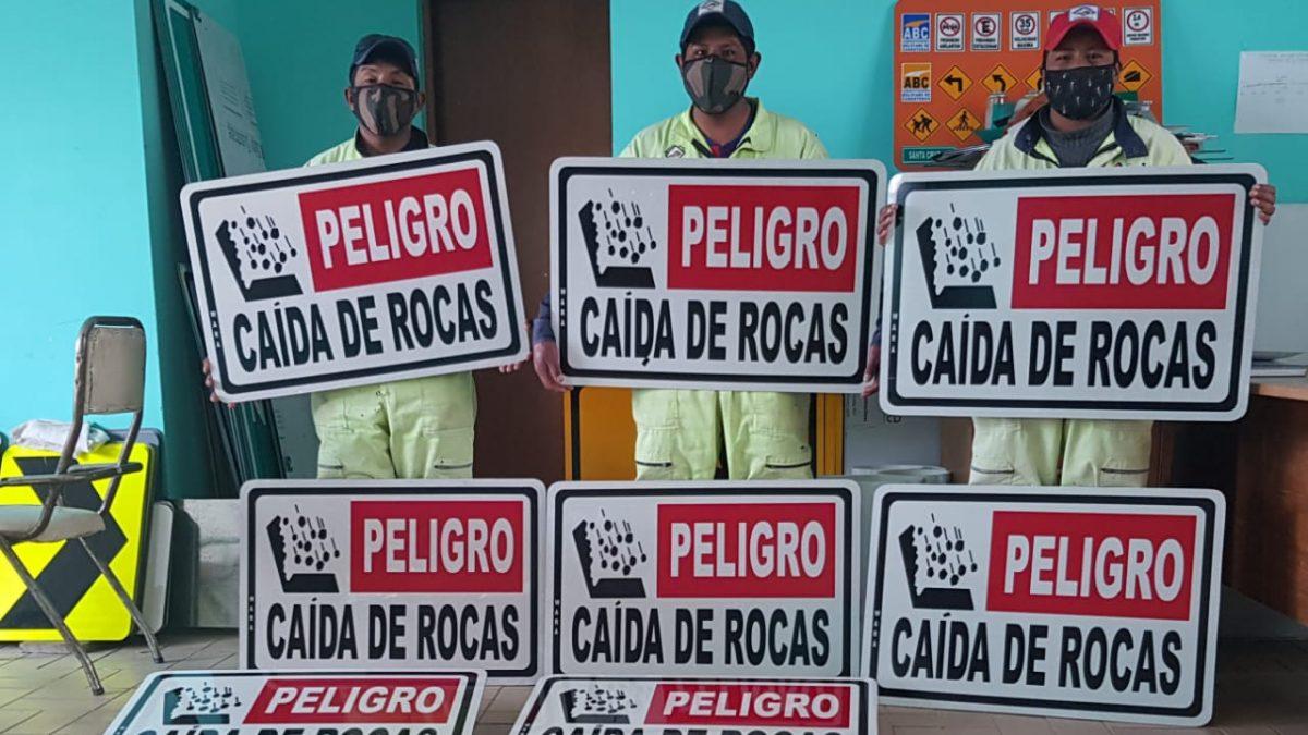 Por alto tráfico de pasajeros en fin de año la ABC refuerza seguridad vial en la carretera Oruro-Sucre