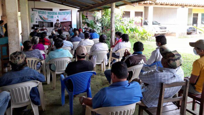 Indígenas del Beni anuncian la aplicación de la jurisdicción indígena ante la explotación ilegal de sus recursos naturales