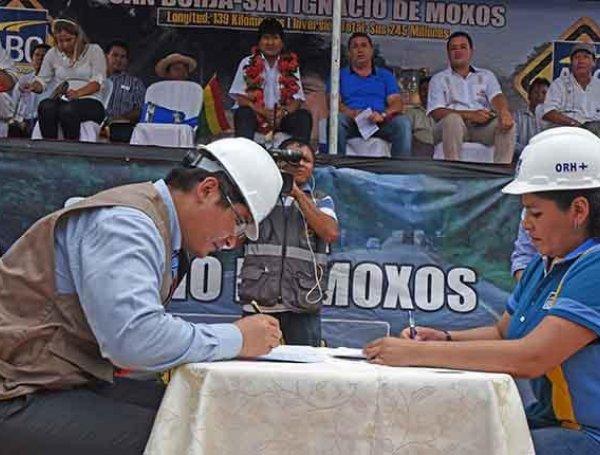 Comunidad yucaré exige a empresa china CCCC subsanar el desmonte y la contaminación que generaron en el tramo San Borja- San Ignacio