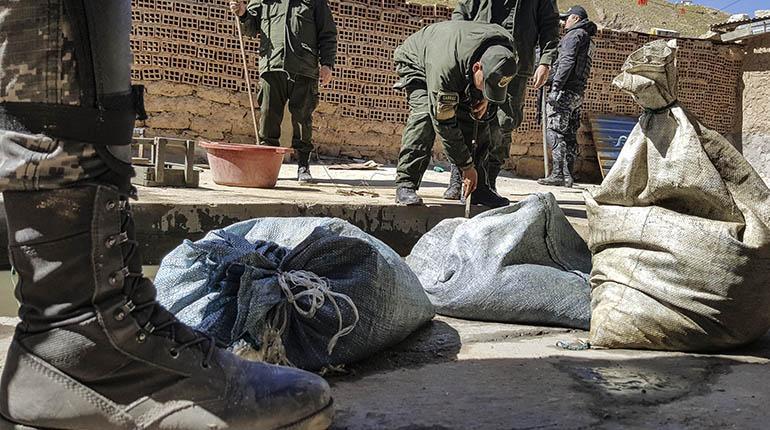 Sube la cotización del estaño y el gobierno pide apoyo al Ejército para frenar el jukeo