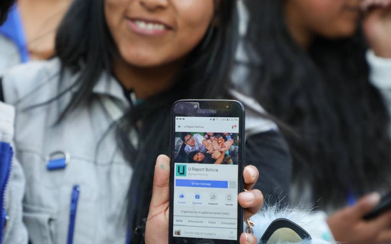 U-Report celebra 3 años en Bolivia amplificando la voz de adolescentes y jóvenes