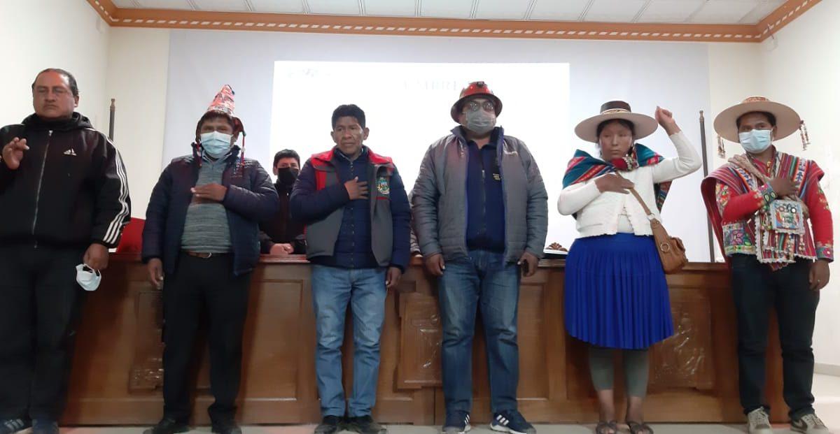 Los defensores de los ríos en el Norte Potosí tienen nuevos dirigentes y advierten con movilizaciones