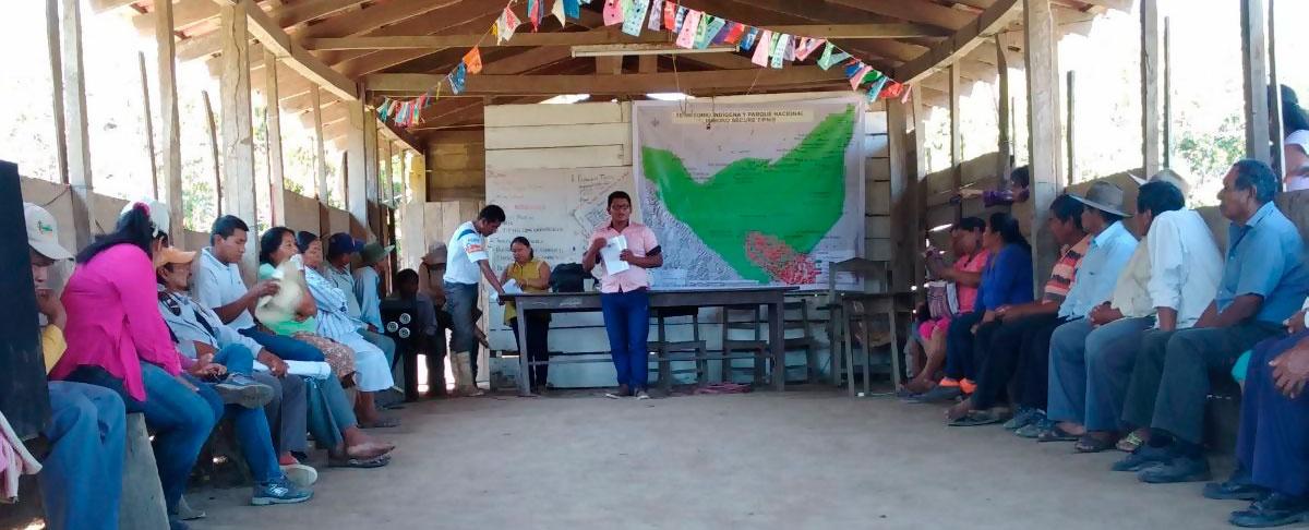 Comitiva de líderes indígenas del TIPNIS sufren agresiones por comunarios afines a CONISUR