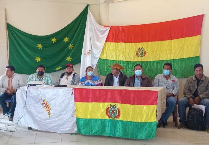 Organizaciones indígenas del Beni fijan una agenda programática de seis ejes como mandato para sus representantes estatales