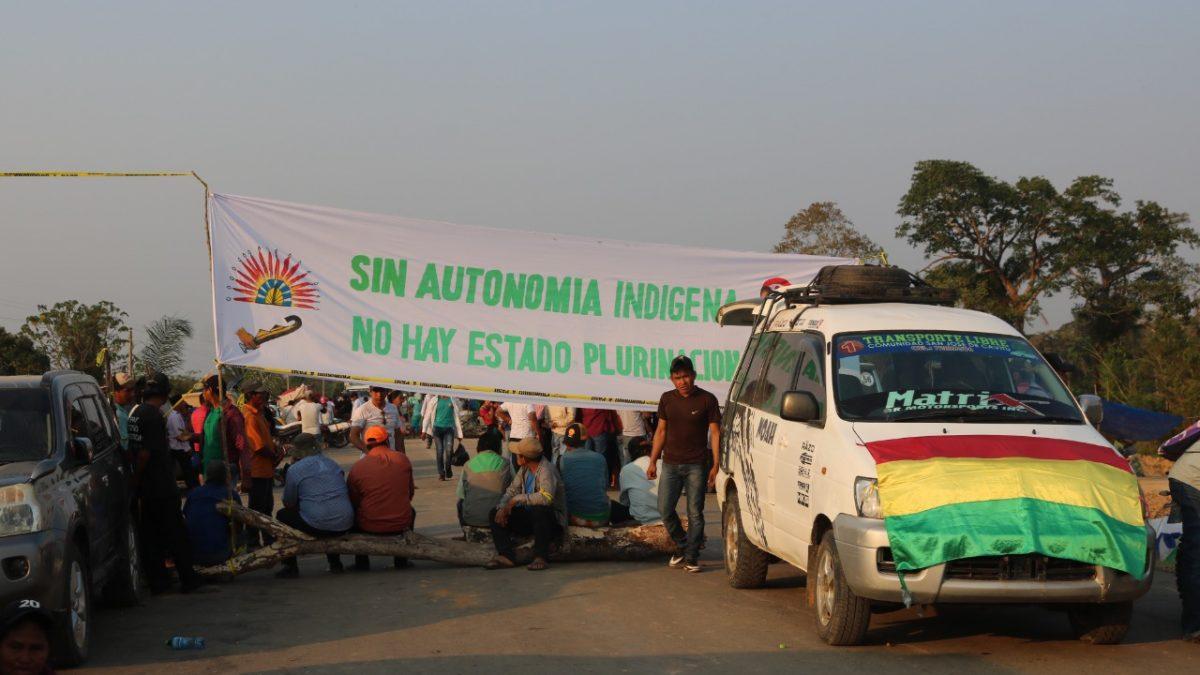 Indígenas movilizados en Beni reclaman una plataforma de ocho puntos que involucran a los cuatro órganos de poder público