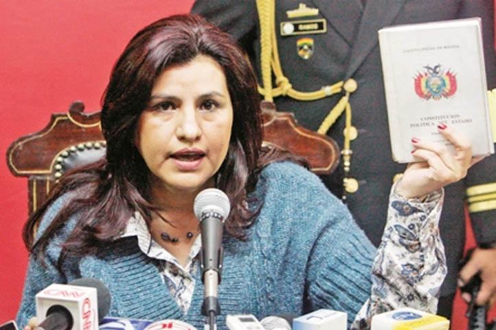"""Rebeca Delgado: El GIEI ha ratificado la """"infinidad"""" de informes que develaron que la justicia en Bolivia no es independiente"""