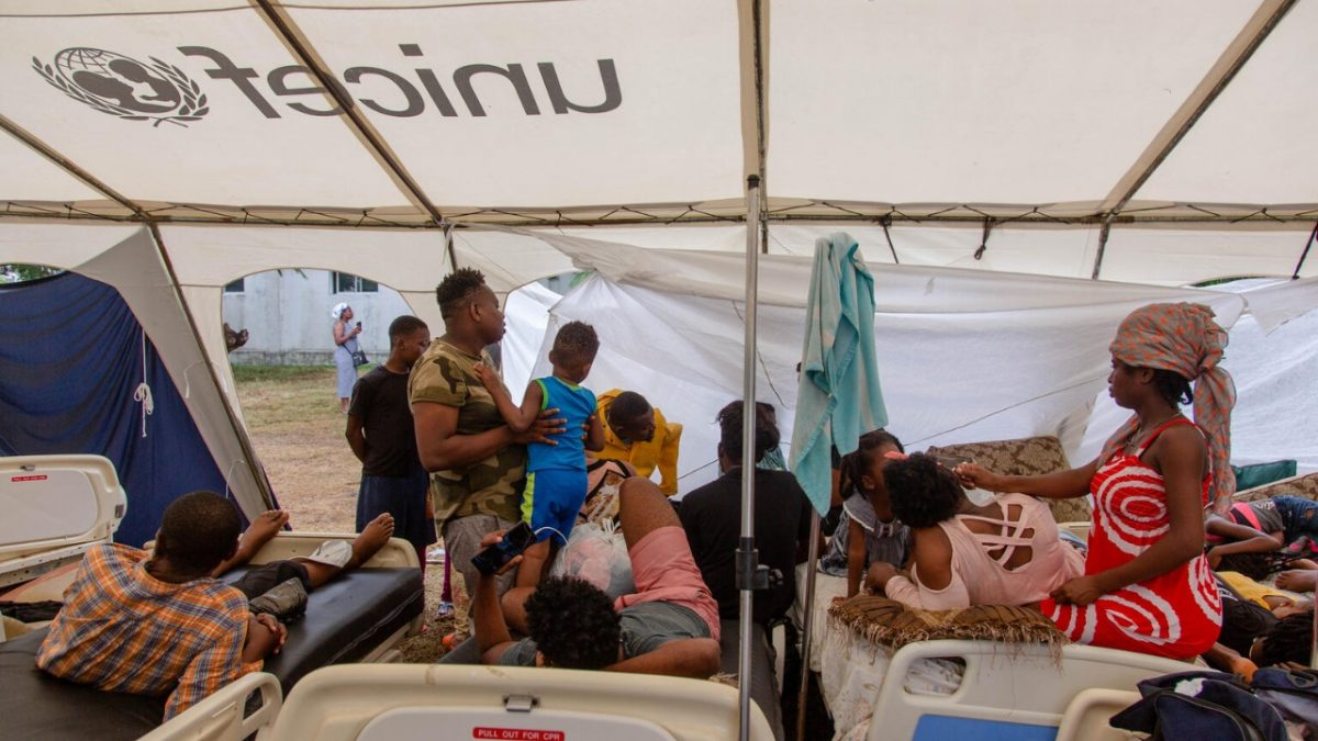 Más de medio millón de niños y niñas afectados por el terremoto de Haití