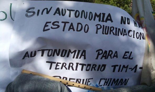Indígenas del Beni ratifican su movilización para este domingo en defensa de sus derechos vulnerados por el Estado