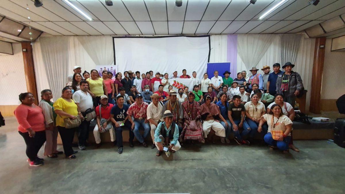 Pueblos indígenas demandan 36 escaños, respeto a la consulta previa y un alto a los avasallamientos