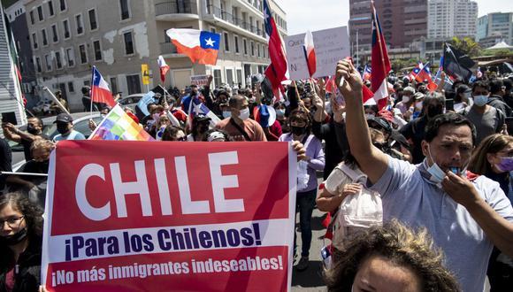 La marcha antiinmigrantes que mostró el lado más inhumano de Chile