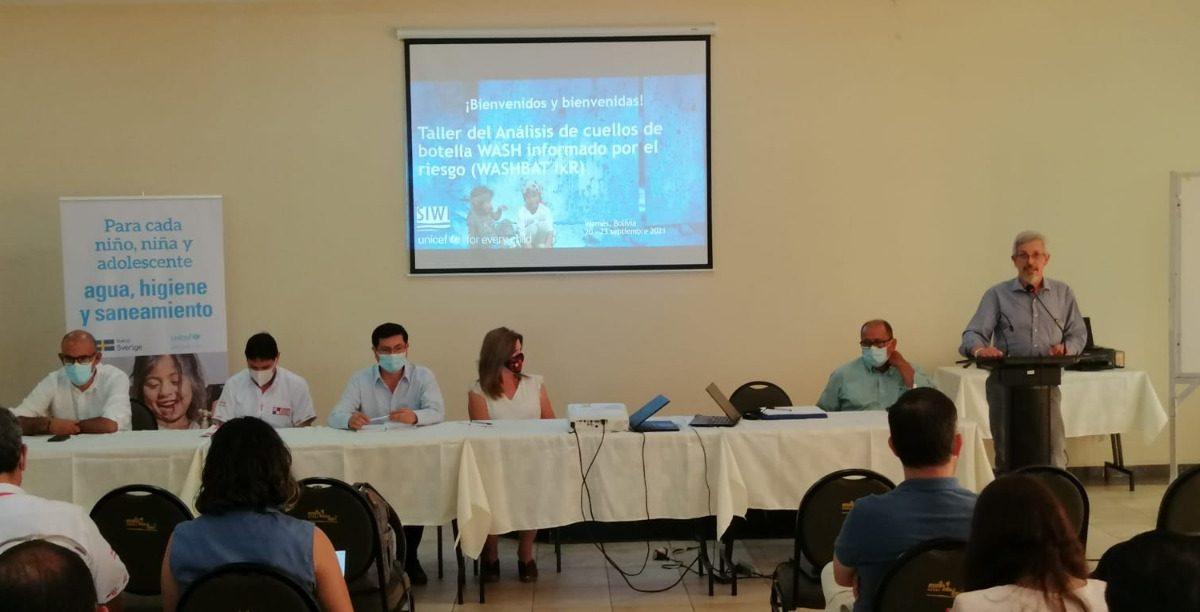 UNICEF reúne a autoridades de todo el país para tratar problemas de agua, higiene y saneamiento que afectan a la niñez