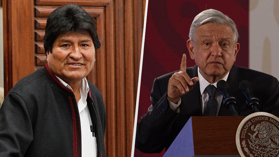 Presidente de México: Evo y los dirigentes del MAS no debieron insistir tantas veces en la reelección